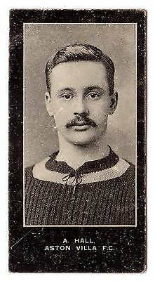 F. & J. SMITH FOOTBALLERS-NO SERIES TITLE No.101 A. HALL-ASTON VILLA