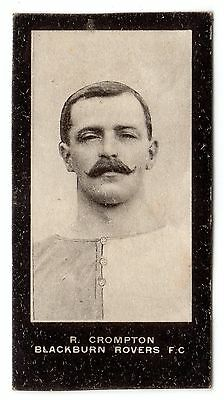F. & J. SMITH FOOTBALLERS-NO SERIES TITLE No.87 ROBERT CROMPTON-BLACKBURN ROVERS