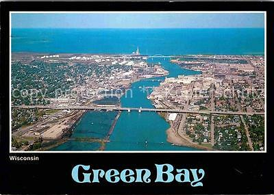 72636922 Green Bay Wisconsin Fliegeraufnahme Green Bay