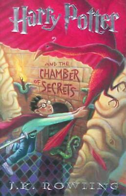 Harry Potter and the Chamber of Secrets by J.K. Rowling (English) Hardcover Book