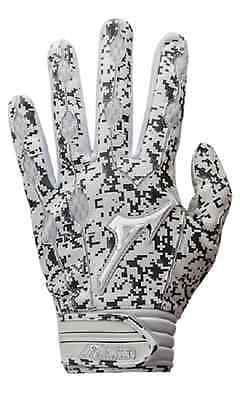 2017 1 Pair Mizuno 330363 Covert Adult Large Digital Camo Batting Gloves New!