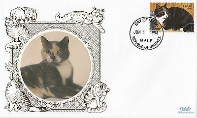 (80926) Maldives Benham FDC Cats - 1 June 1998