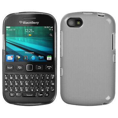 For Blackberry 9720 Semi Transparent Smoke Candy Skin Case Cover
