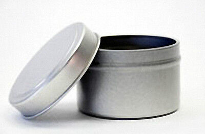 4 oz Seamless Candle Tins  (Lot of 24)