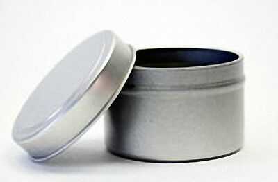 4 oz Seamless Candle Tins  (Lot of 12)
