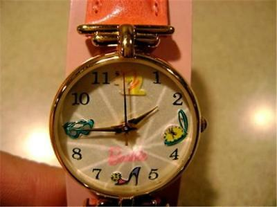Rare~35th Anniversary Barbie Watch by Fossil in HAT BOX w/Scarf Ltd Edition