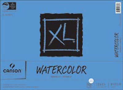 """30 Sheets - Canson XL Watercolor Paper Pad 11""""X15"""""""