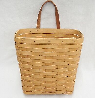 Longaberger Wall Basket 9.5 x 9.5 1997