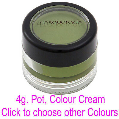 Body Paint, Colour Cream, 4g Pot, by Masquerade