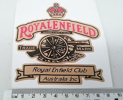 ROYAL ENFIELD Motorcycle  CLUB AUSTRALIA  -    STICKER