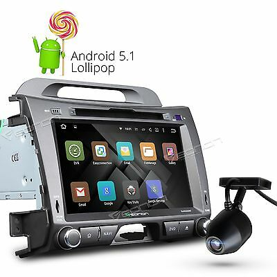 "Dashcam Multimedia 8"" Android 5.1 Car Stereo DVD GPS BT Radio for Kia Sportage L"