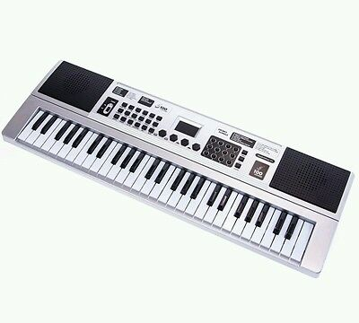 *NEW* ELECTRONIC Synthesizer Musical KEYBOARD 54 Keys Percussion Record/Playback