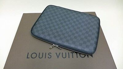 Louis Vuitton Notebook Laptop Hülle / Etui / Case 13° Groesse Damier Graphite