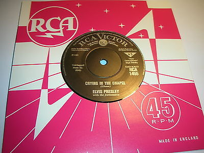 Elvis Presley - Crying In The Chapel / I Believe In The Man In ....mint/unplayed