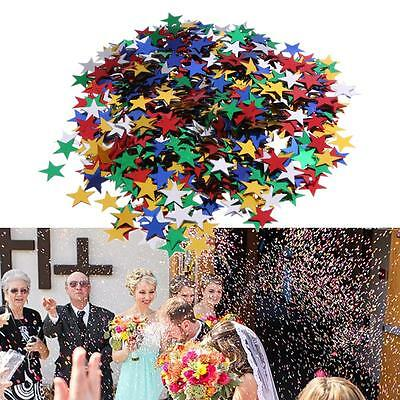 4000x Tissue Paper Rainbow Color Hearts Table Confetti Wedding Party Decoration