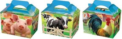 Wholesale Job Lot 150 Farm Animal Themed Food Boxes *Party *Boys *Girls