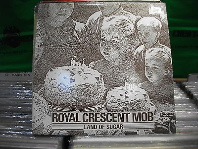 Royal Crescent Mob ‎– Land Of Sugar ' 12'' N.MINT / MINT