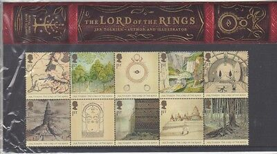 GB 2004 LORD OF THE RINGS PRESENTATION PACK No.356 SG 2479-2438 MINT STAMP SET