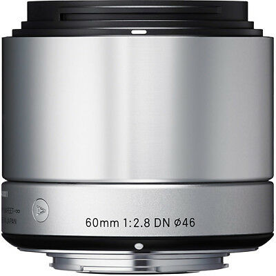 Sigma 60mm F2.8 DN 'A' Lens - Micro FourThirds Fit in Silver