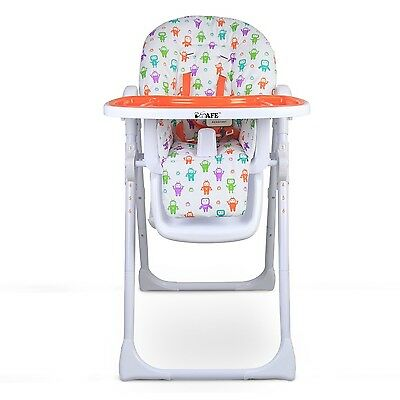 iSafe MAMA Highchair - Helo Recline Compact Padded Baby High Low Chair