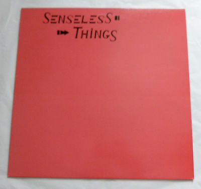 The Senseless Things - Up and coming    UK VINYL LP