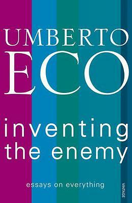 Inventing the Enemy by Eco, Umberto | Paperback Book | 9780099553946 | NEW