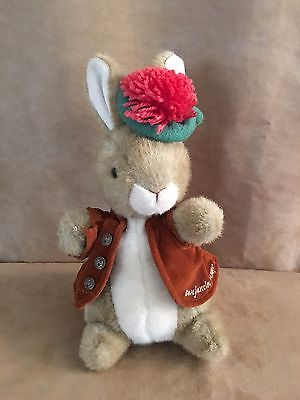 "Benjamin Bunny Beatrix Potter Eden 12"" plush stuffed animal peter rabbit animal"