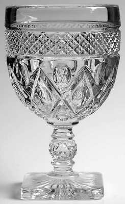 Imperial Glass Ohio CAPE COD CLEAR (STEM #1600) Water Goblet S236363G2