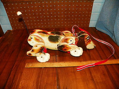 """Vintage 1961 FISHER PRICE """"SNOOPY SNIFFER"""" Pull Toy"""