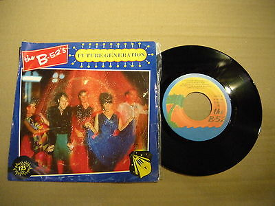THE B-52's ‎– Future Generation ' 7'' MINT SPAIN PRESS