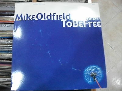 Mike Oldfield – To Be Free (The Remixes)  ' 12'' MINT SPAIN PRESS RAREEEE