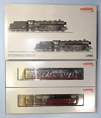 Marklin DIGITAL MFX HO 37955 *BARGAIN* 2x Cl. 03 FANTASTIC runners Nr MINT BOXED