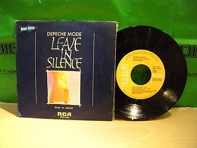 Depeche Mode ‎– Leave In Silence - PARTIR EN SILENCIO ' 7'' VG++  SPAIN PRESS