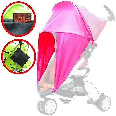 Sunny Sail - Pink Universal Fit For Pushchair With Side Protection