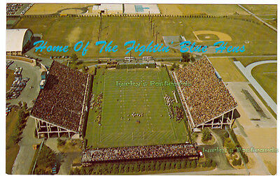 HOME OF THE FIGHTIN' BLUE HENS Delaware University NEWARK - c1960 POSTCARD