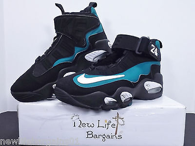 Nike Air Max Griffey Freshwater Youth Shoes 437353-034 Size 6.5Y Black/Green