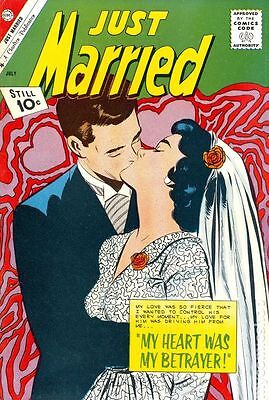 Just Married (1958) #20 GD/VG 3.0 LOW GRADE