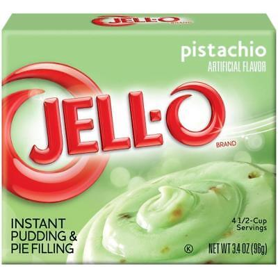 Jell-O Pistachio Instant Pudding & Pie Filling (96g)