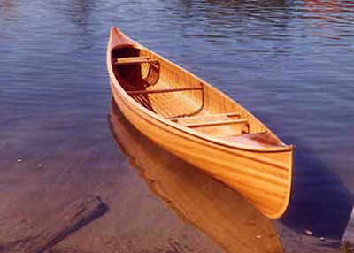 How to build 18' Cedar Strip Canoe Plans, Patterns, Instructions