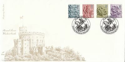 (85162) CLEARANCE GB 4d Post England FDC 65p E 1st 2nd St George Day 23 Apr 2001