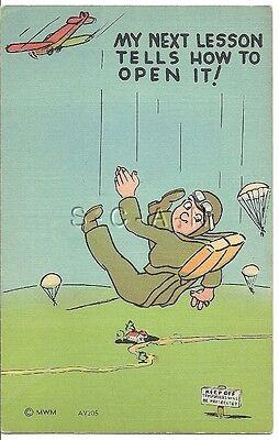 WWII Original Linen Army PC- Paratrooper- Parachute Troops- How to Open It?