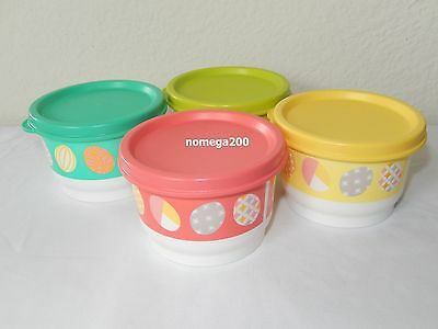 Tupperware New Easter Snack Cups Set of 4