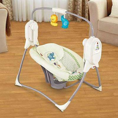 New Fisher Price Baby Space Saver Cradele 'n Swing Cch25 Music 2 Motions Infant