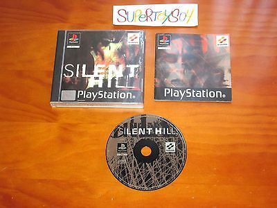 Silent Hill !!  Psx -  Ps1  Pal España       Completo !!