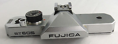 (Prl) Fujica St605 Ricambi Callotta Superiore Camera Body Spare Part Repair Lab