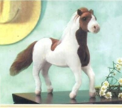 Poseable Myrtlewood Stables MAGIC Brown Paint Plush Toy Horse