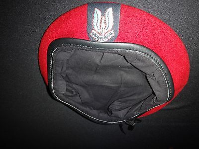 British Army Special Forces SPECIAL AIR SERVICE SAS Red Beret