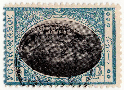 (I.B) French Morocco Local Post : Tangiers 5c