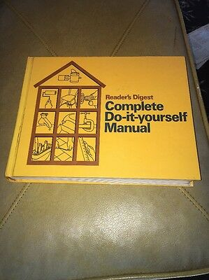 Readers digest repair books fix it yourself manual do it yourself vtg readers digest complete do it yourself manual fix repair hard cover 1973 solutioingenieria Choice Image