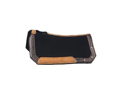 Tough-1 Saddle Pad Desert Faith Collection Wool Shock Absorber 31-2725